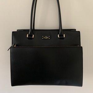 Kate Spade Maeve Grove Street Leather Satchel